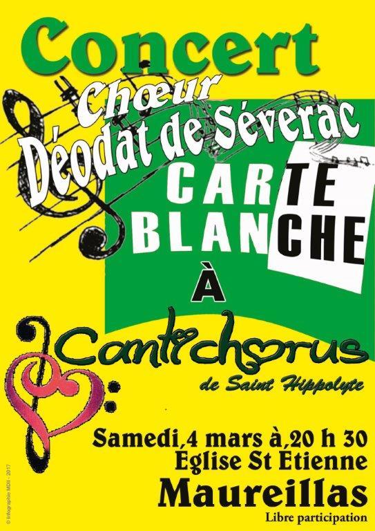 Carte blanche cantichorus c