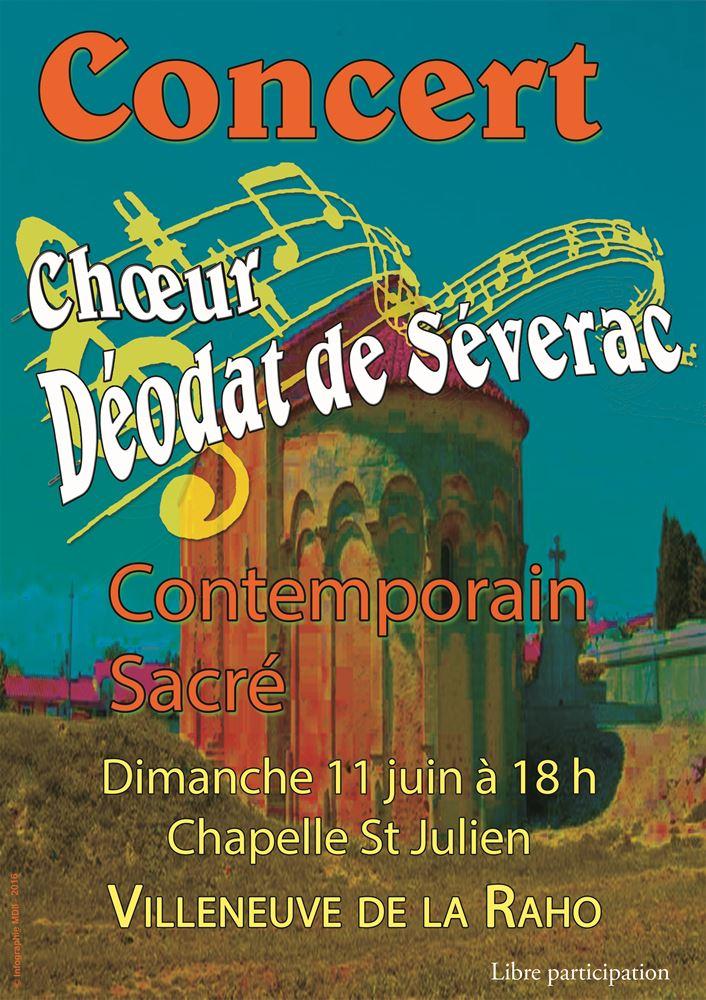 Concert chapelle st julien villeneuve de la raho 2